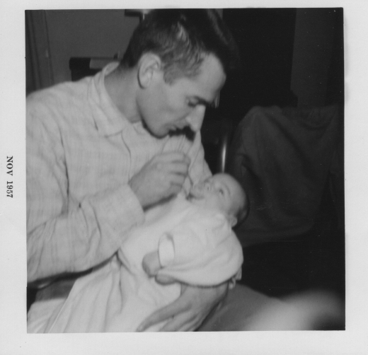 Russell and Charles Severance, November 1957